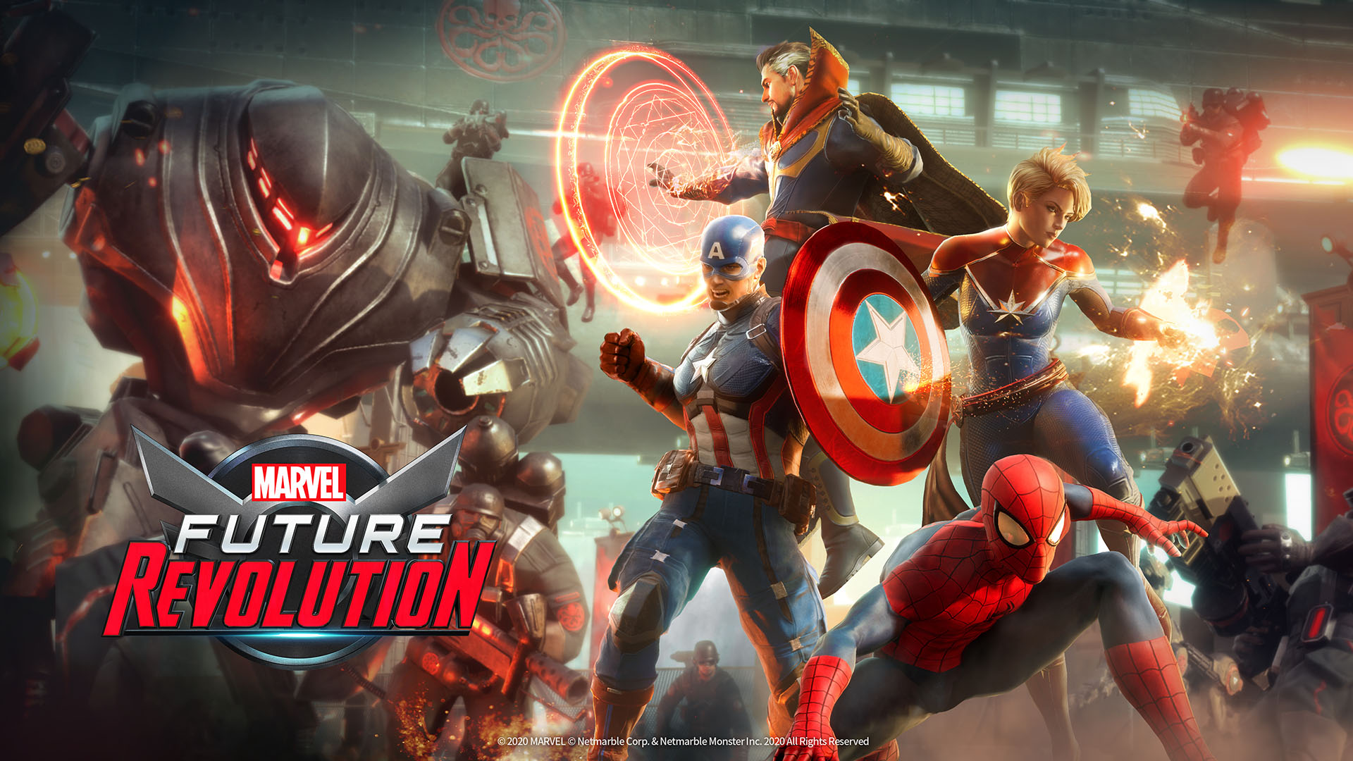 【Marvel Future Revolution】配信日・リリース日はいつ?事前登録情報