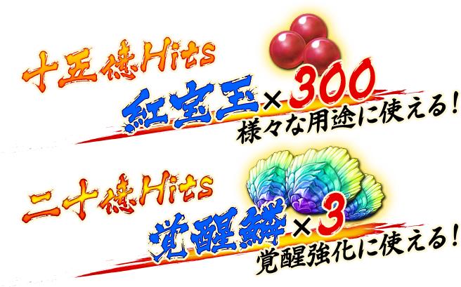 【戦国BASARA バトルパーティー】10億Hits突破で豪華プレゼント確定