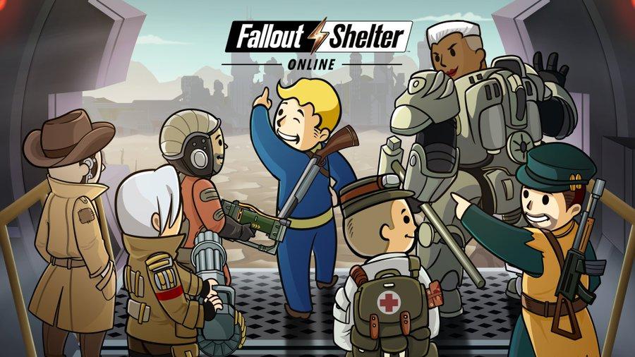【Fallout Shelter Online】配信開始!豪華な事前登録特典をゲットしよう
