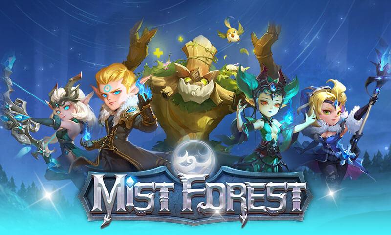 【Mist Forest】アプリ配信開始!ヒーローを指揮して悪を討つ「放置型アドベンチャーRPG」