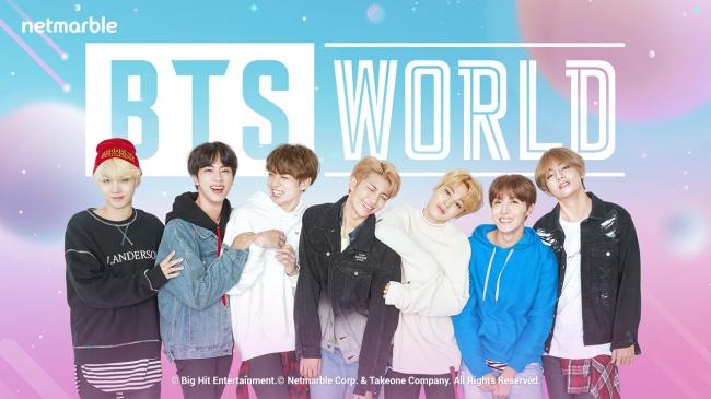 【BTS WORLD】配信日・リリース日はいつ?事前登録情報