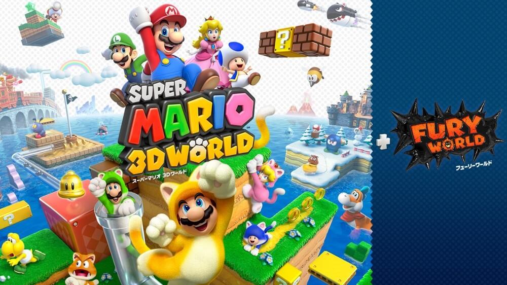 「スーパーマリオ 3Dワールド+フューリーワールド」が発売!WiiUの名作に新要素がプラス